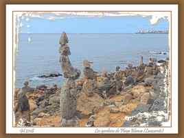 Les gardiens de Playa Blanca (Lanzarote)
