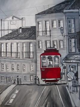 tram rouge