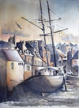 Port et bateau