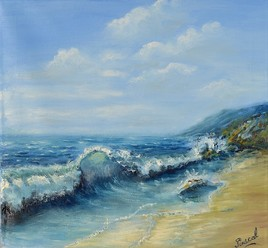 marine vague mer