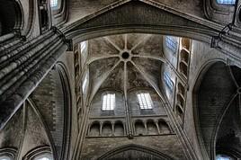 détail de la cathédrale de Laon