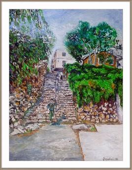 Escaliers de houmet Essour ( Bejaia )