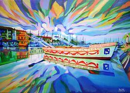 Les barques de joutes