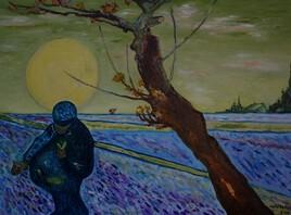 Le semeur  (d'après Vincent Van Gogh)