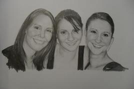Laura, Estelle et Emilie
