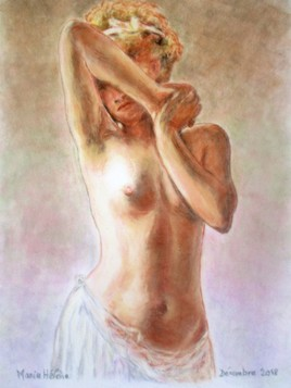 Le nu aux jupons