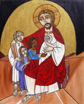 Jésus bénit les enfants