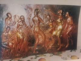 La danse autour du feu