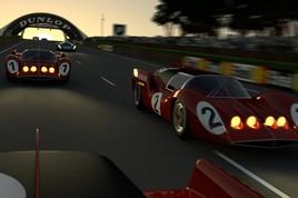 Crépuscule au Mans