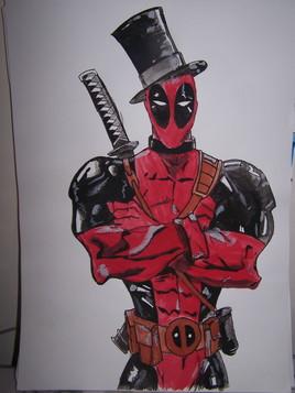 Deadpool Chapeau A3
