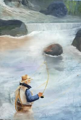 le pêcheur à la mouche
