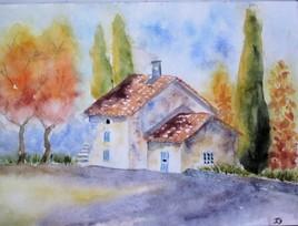 La maison aux cyprès