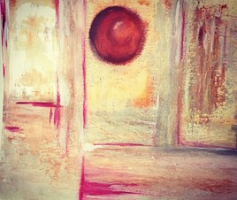 Soleil abstrait