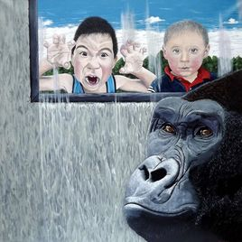Visite au gorille