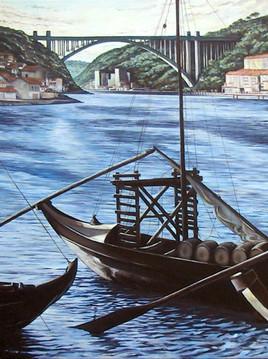 barque sur le douro