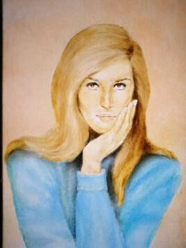 Dalida en 1967 chante les grilles de ma maison