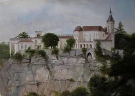 Rocamadour. Château.