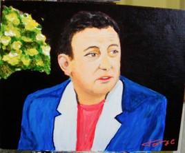 Portrait de COLUCHE