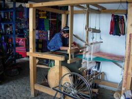 le tissage au Guatemala... une affaire de femmes