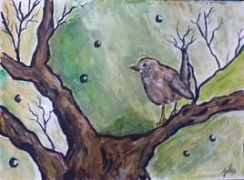 Oiseaux sur l'arbre