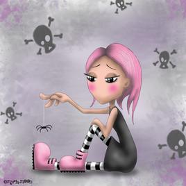 La tite araignée by Myria-Moon