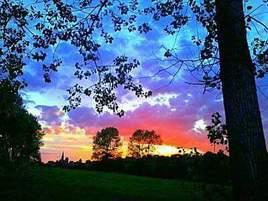 Un magnifique paysage juste à côté de chez moi !