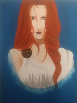 Portrait d'Athéna