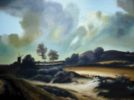 Reproduction d'une oeuvre de Jacob Van Ruisdael