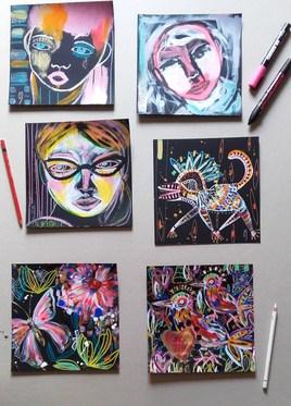 Série de petites peintures (III)