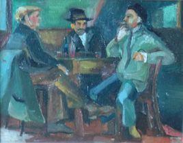 Buveurs (hommage à Cezanne)