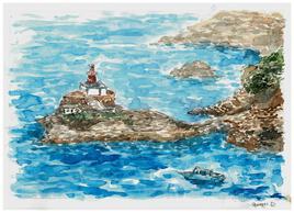 Vue sur la côte (Corse)