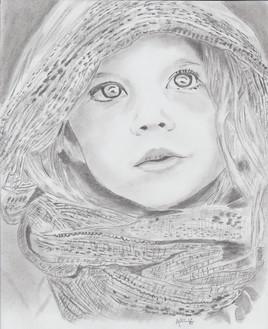 Petite Fille au foulard