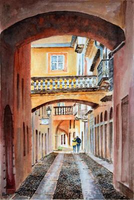 Rue d'Orta (Italie)