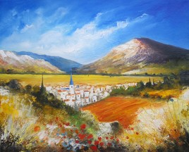 Peinture de Provence