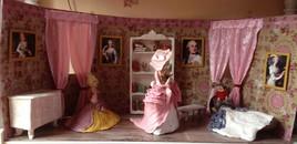 Mise en scéne Marie-Antoinette terminée
