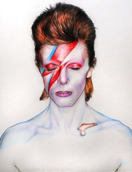 "Aladdin Sane"" David Bowie"