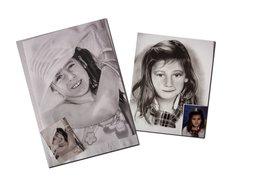 Portraits enfant d'après photo