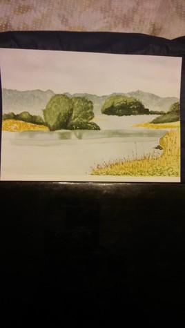 1ere aquarelle....