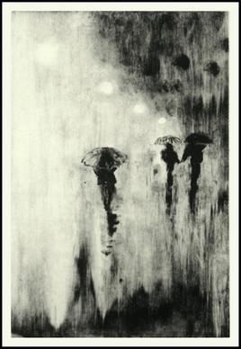 Monotye (3). Jour de pluie.