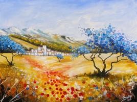 Village aux oliviers