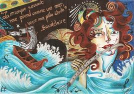 """""""La musique souvent me prend comme une mer"""" ~ Baudelaire"""