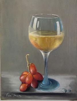Un verre de blanc