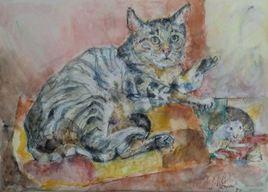 Le chat du peintre