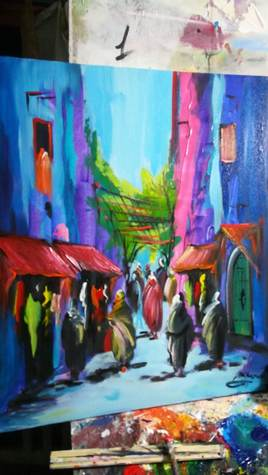 tableaux d'art sur toile