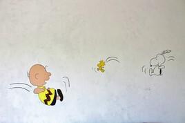 art mural _ Peanuts