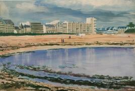 La plage du Pouliguen