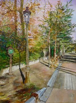 """Avenue des sapins"" 80x60"