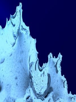Iceberg gothique 2) 2018 - Rappel