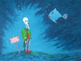 Le clown et le poisson (La folie)
