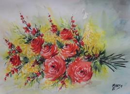 Bouquet du jour ...Mimosa